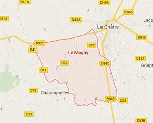 Carte le Magny