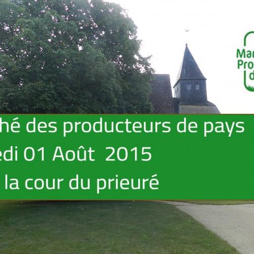 Marché des producteur du Pays le 1er Aout 2015
