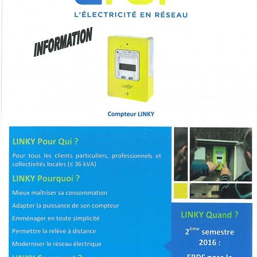 INFORMATION ERDF