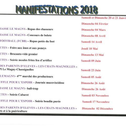 MANIFESTATION 2018