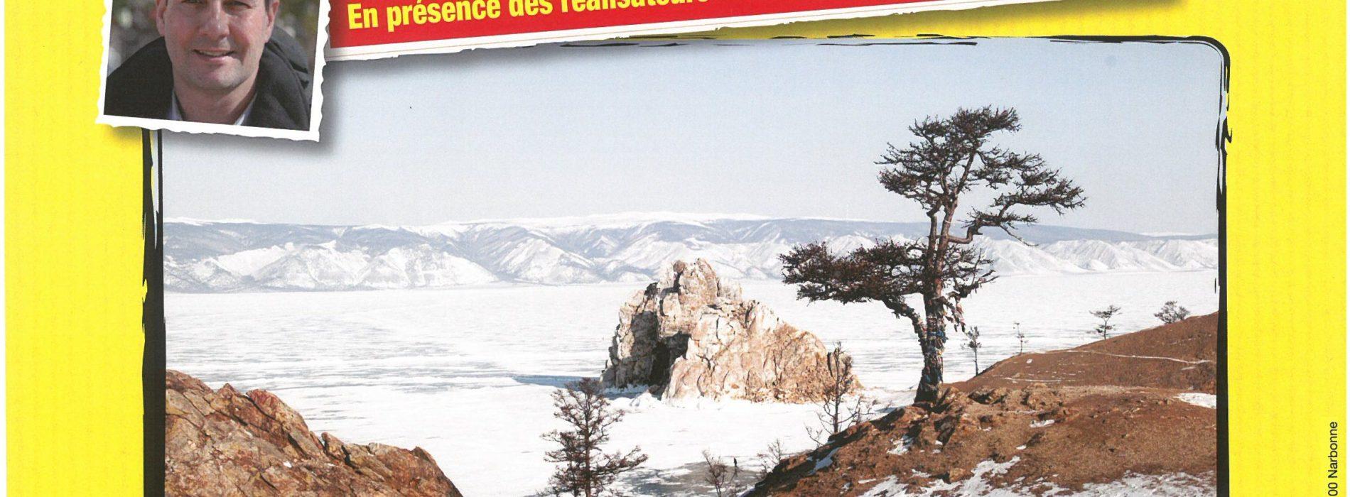 """CONFERENCE CONNAISSANCE DU MONDE LA RUSSIE """"LE LAC BAIKAL"""" SAMEDI 7 AVRIL A 15 H L'ECLAM"""