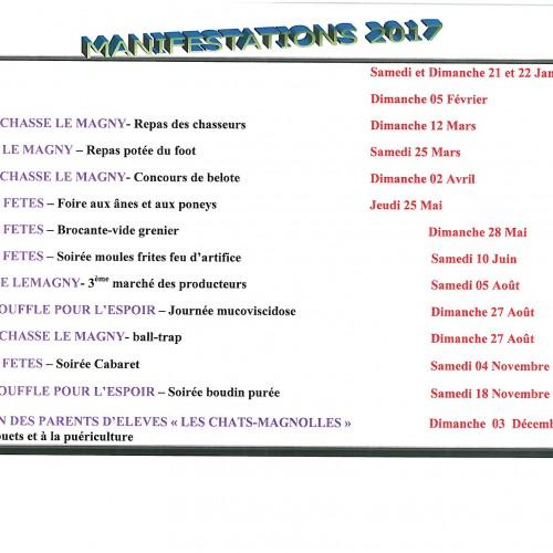 MANIFESTATION 2017