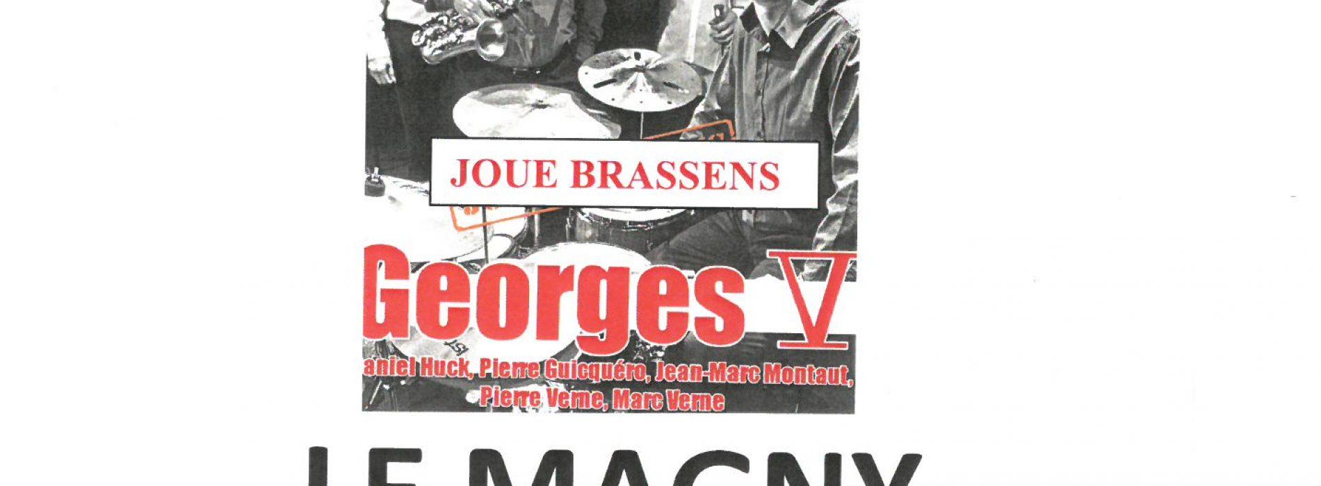 HOMMAGE A GEORGES BRASSENS  1ER JUILLET -20H30 CENTRE SOCIO CULTUREL L'ECLAM
