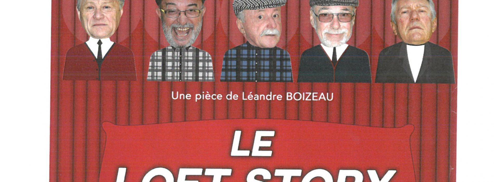 """SOIREE THEATRE """"LE MUSEE DES RONCHONS"""" le Samedi 7 Octobre -20h30 à l'ECLAM"""