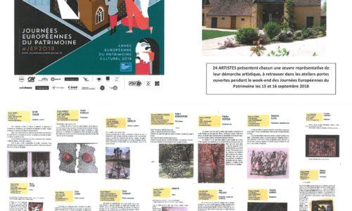 """EXPOSITION """"RENCONTRES DES ARTS"""" DU 13 AU 23 SEPTEMBRE 2018"""