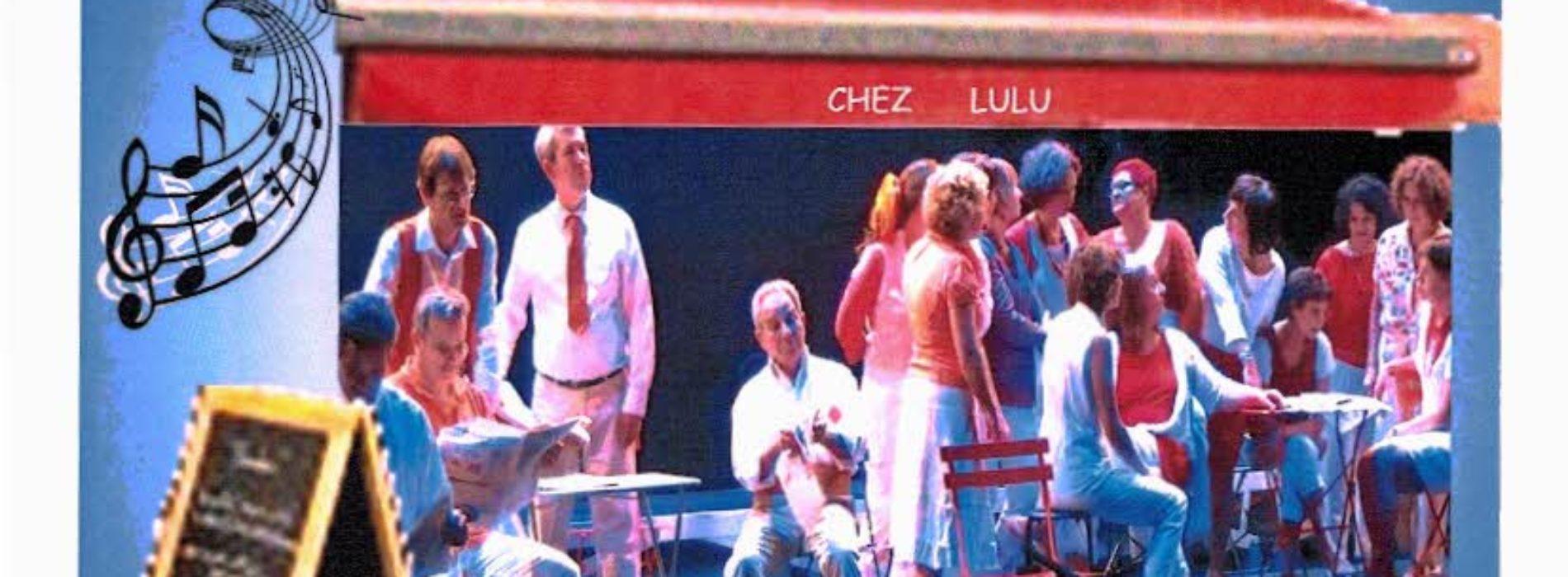 """SPECTACLE MUSICAL 'Chez LULU' avec LE CHOEUR CHANGER D'AIRS ET LA PARTICIPATION """"TROIS P'TITES NOTES LE MAGNY LE SAMEDI 6 OCTOBRE"""