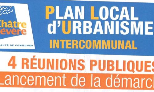 PLAN LOCAL D URBANISME INTERCOMMUNAL 4 REUNION PUBLIQUE