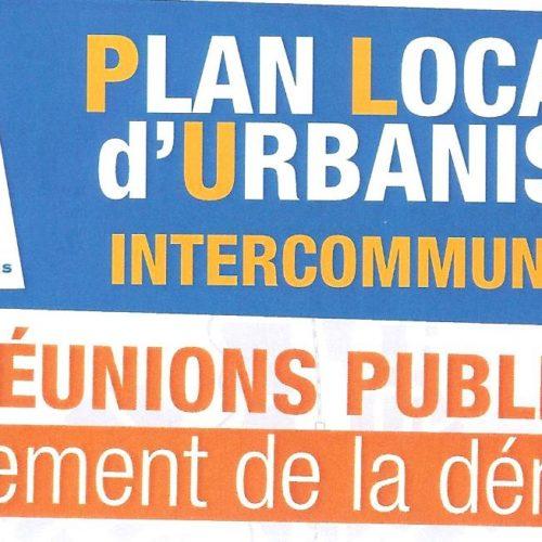 PLAN LOCAL D URBANISME INTERCOMMUNAL 4 REUNION PUBLIQUE