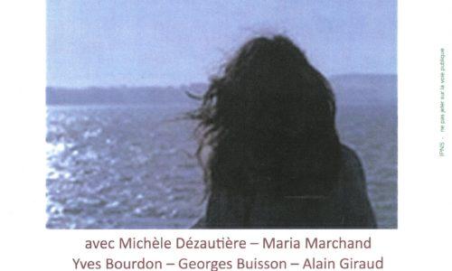 """LECTURE THEATRALISEE """"ANGELINE-d'après Le Curé et la Militante"""" Vendredi 5 Avril 2019 à 20h30 Salle du  Conseil Municipal de la Mairie"""