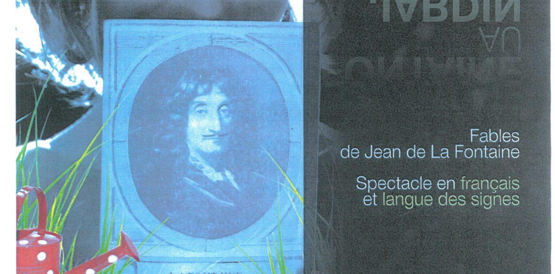 La Compagnie SEPT-EPEES (DE LA FONTAINE AU JARDIN) SPECTACLE LE 17 MAI A 20H30 L ECLAM