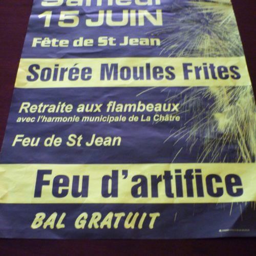 SOIREE MOULES FRITES LE 15 JUIN 2019