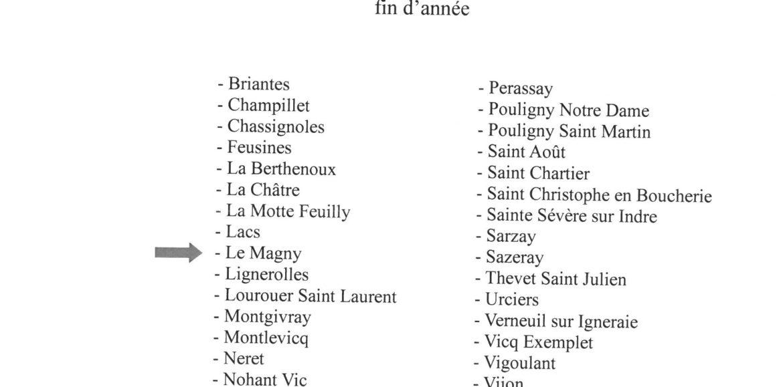LES AVIS DE TAXE D'HABITATION ET FONCIERES 2019 POUR LA COMMUNE DE LE MAGNY