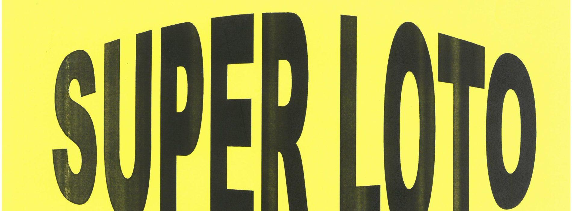 SUPER LOTO DIMANCHE 19 JANVIER A 14H SALLE DES FETES DE CHASSIGNOLLES