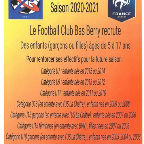 FOOTBALL CLUB BAS BERRY RECRUTE