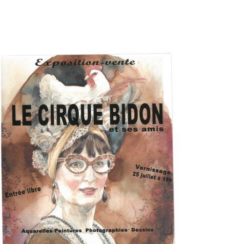 EXPOSITION-VENTE LE CIRQUE BIDON ET SES AMIS
