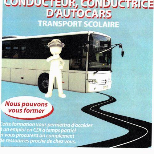 LDT TRANSPORTS ET VOYAGES – CONDUCTEUR, CONDUCTRICE D'AUTOCARS OFFRE D EMPLOI