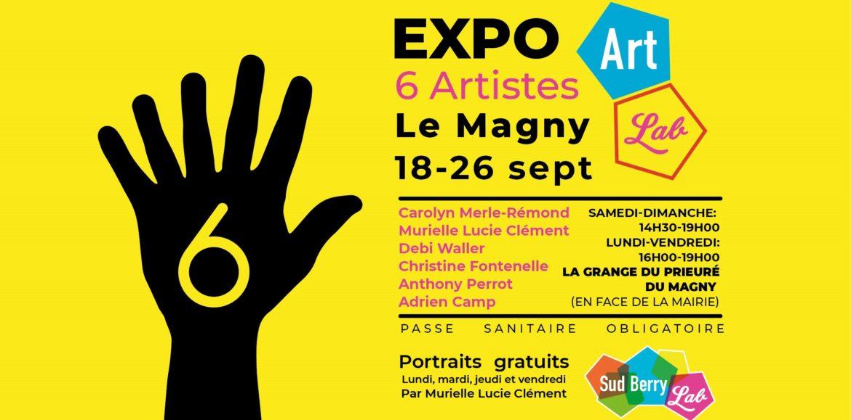 EXPOSITION GRANGE DU PRIEURE DU 18 SEPTEMBRE AU 26 SEPTEMBRE 2021